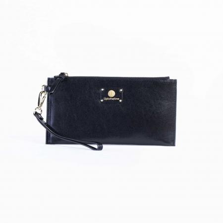 Italian Leather Wristlet-Black_K3-0217_3000px