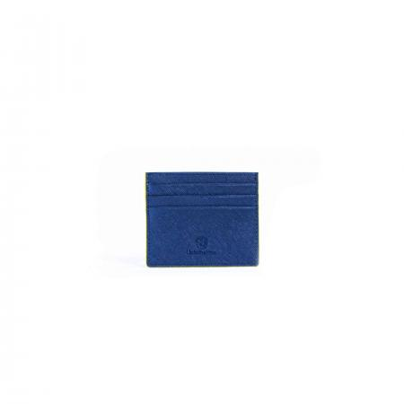 Saffiano Leather Card Holder-Blue_K3-0294_3000px