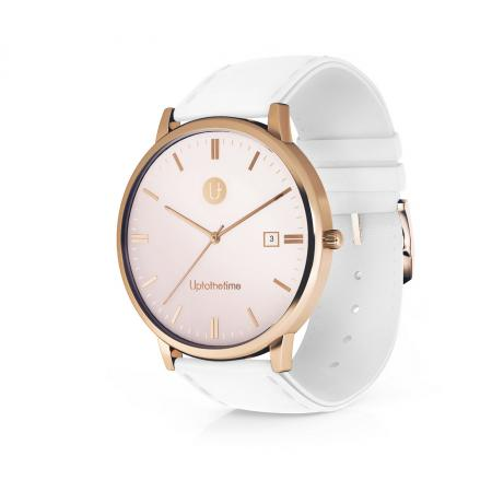 01a - myDream 3 Rose Gold with White Strap_resize