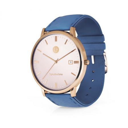02a - myDream 3 Rose Gold with Blue Strap_resize