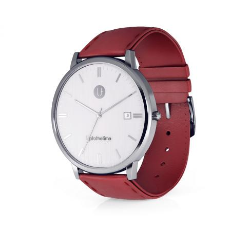 03a - myDream 3 Silver with Red Strap_resize