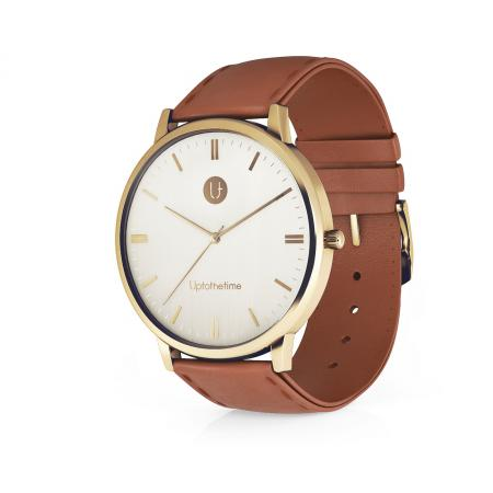 11 - myDream Gold with rustic Brown Strap_resize